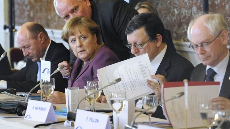 25 de state UE au semnat tratatul de uniune fiscala. Basescu: Olanda face un abuz fara limite