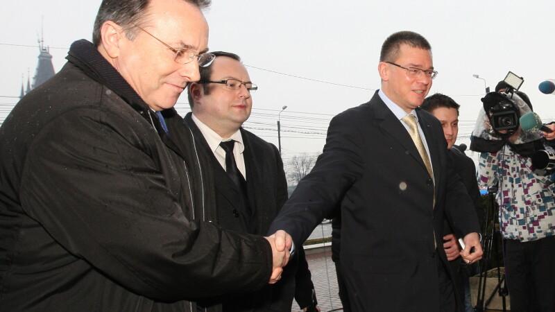 Mihai Ungureanu si Gheorghe Nichita