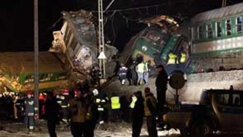 accident feroviar Polonia