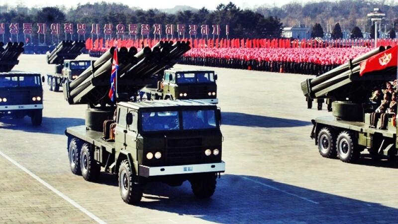 Coreea de Nord a lansat o racheta balistica Taepodong-2. S-a dezintegrat dupa cateva minute