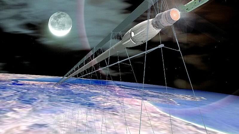 Trenul viitorului nu va mai opri la Ciulnita, ci pe orbita Terrei. Cand vei ajunge in spatiu