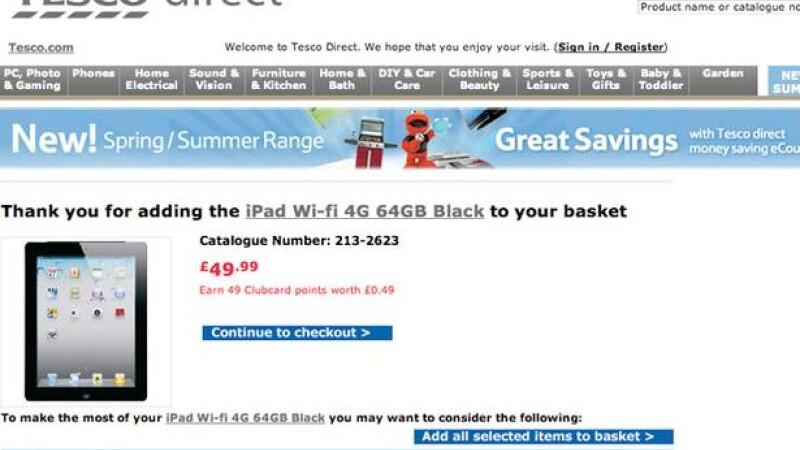 iPad la 50 de lire