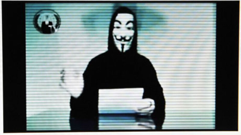 Amenintarea Anonymous, luata in serios. Hackerii pot