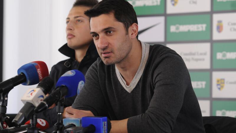 Niculescu, agentul 006. Clujenii spera la Europa dupa 3-0 cu Gaz