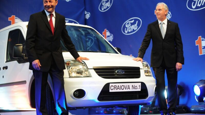 Statul roman va amenda Ford cu 14 mil euro pentru ca a produs mai putine masini decat s-a angajat