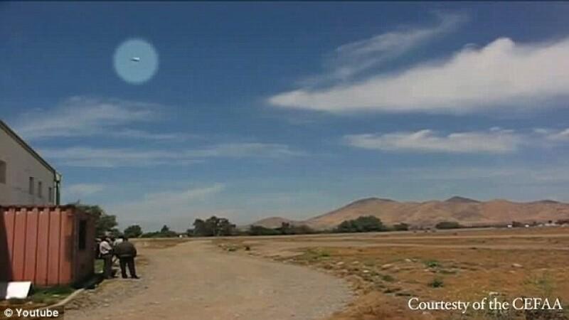 Inregistrarile care au alertat Guvernul din Chile. Un OZN filmat din 7 unghiuri, cu peste 1788 m/s