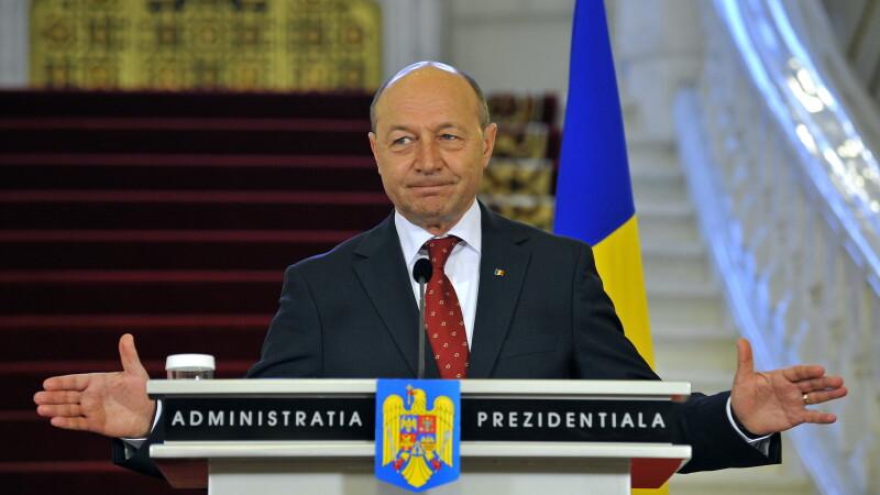 Basescu catre Timofti: Romania va sustine visul european al Rep. Moldova, indiferent de Guvern