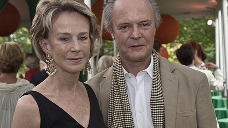 Julian Lethbridge si Anne Bass