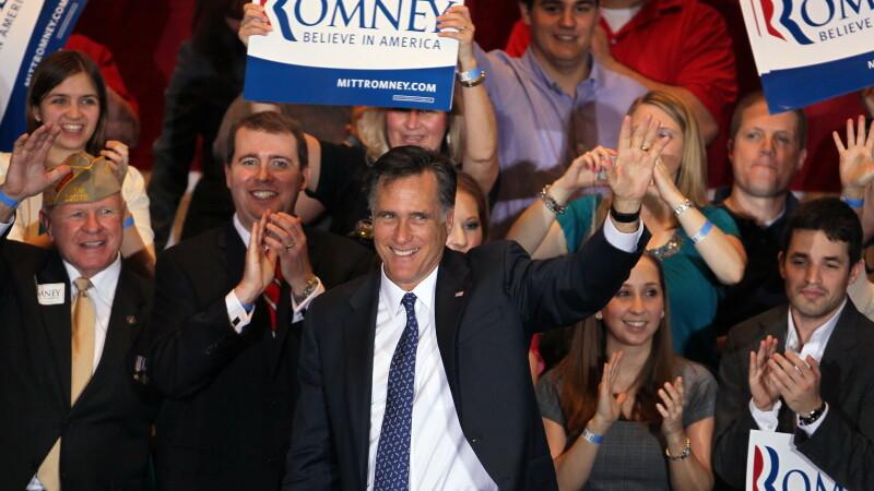 Alegeri in SUA. Mitt Romney a castigat alegerile preliminare republicane din Illinois