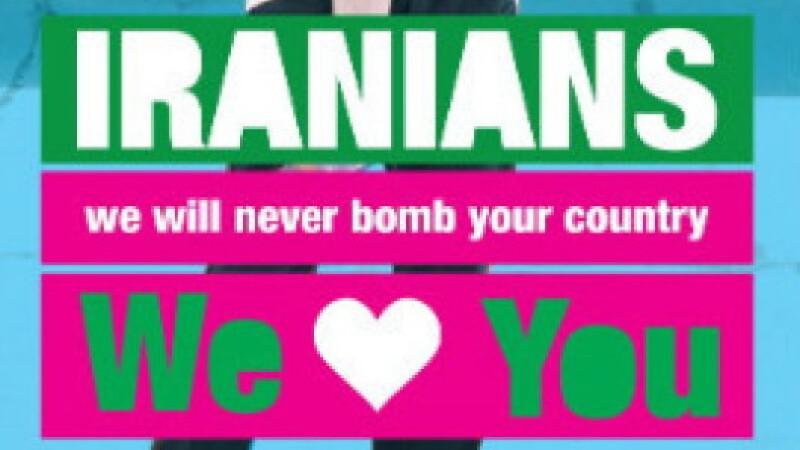 mesaj pacifist Israel-Iran
