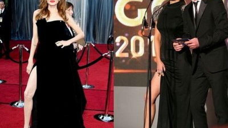 Angelina Jolie si Monica Barladeanu