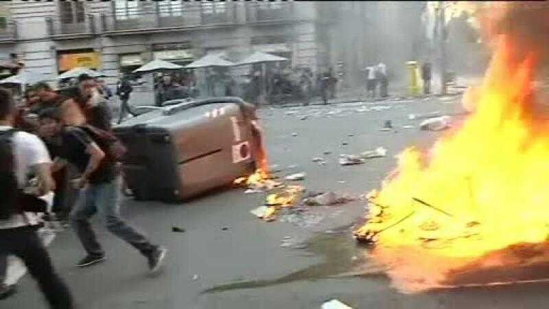 greva si proteste in Spania