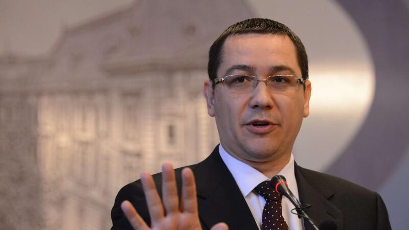 Ponta:Nu am nimic de reprosat Germaniei, ci celor din Romania care ne injura si vorbesc de rau in UE