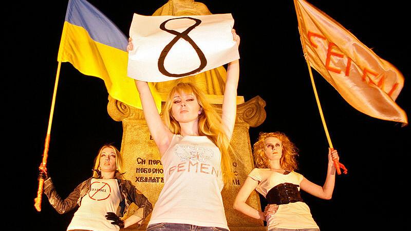 8 martie, Femen