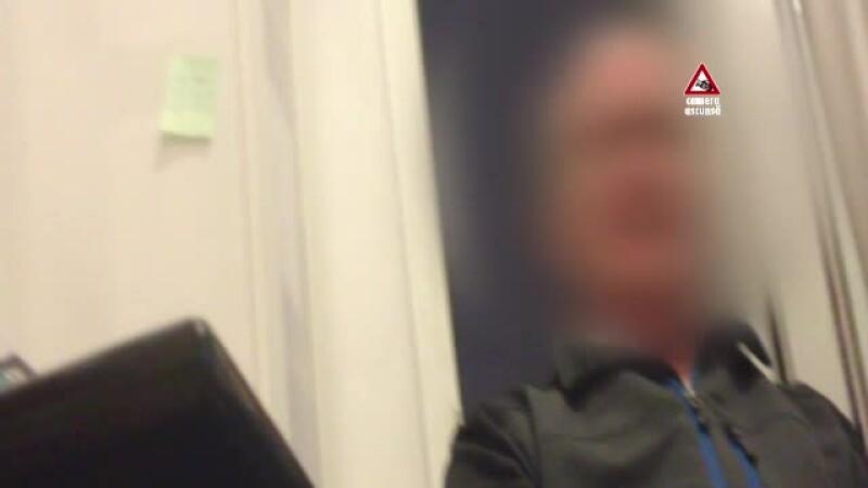 Medic fara specializare, filmat cu camera ascunsa: