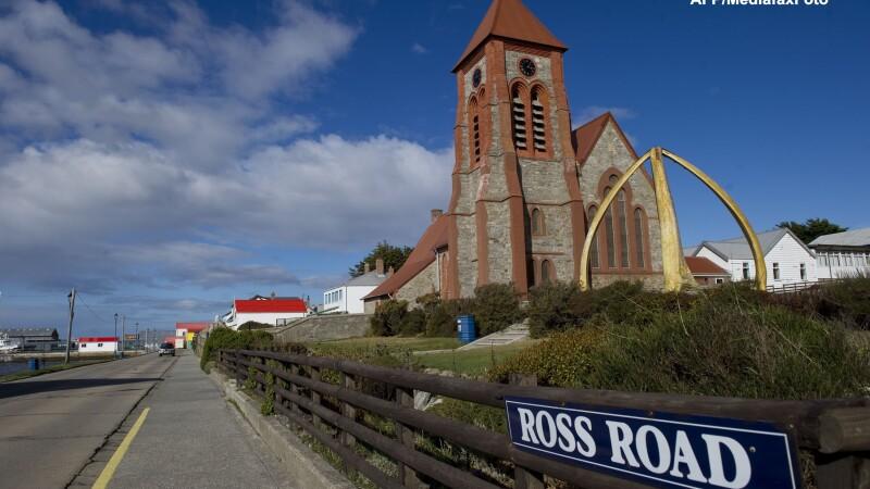 Insulele Falkland au votat in proportie de 98,8 la suta pentru apartenenta la Marea Britanie