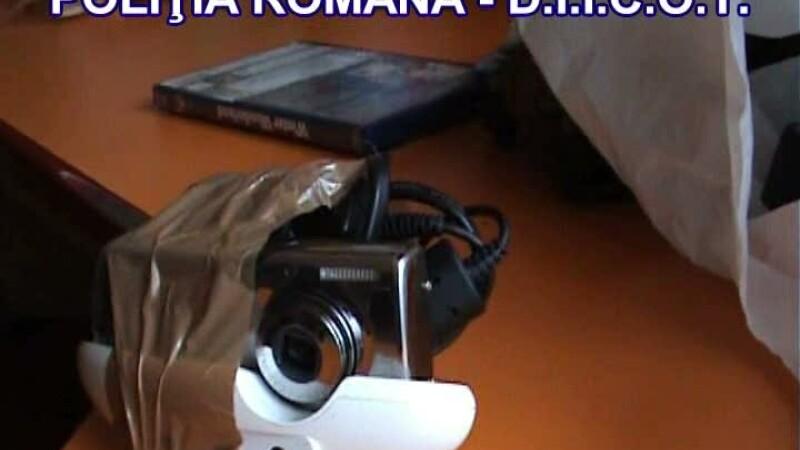 Perchezitii la Oradea si Iasi. Vizati sunt membrii unei grupari specializate in fraude informatice