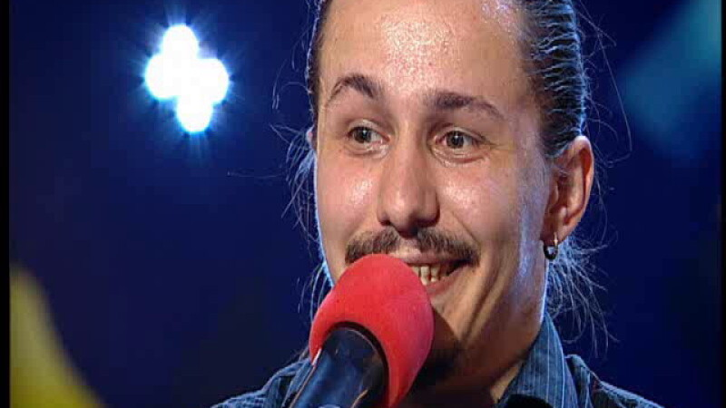 ROMANII AU TALENT. Calin Marincas,