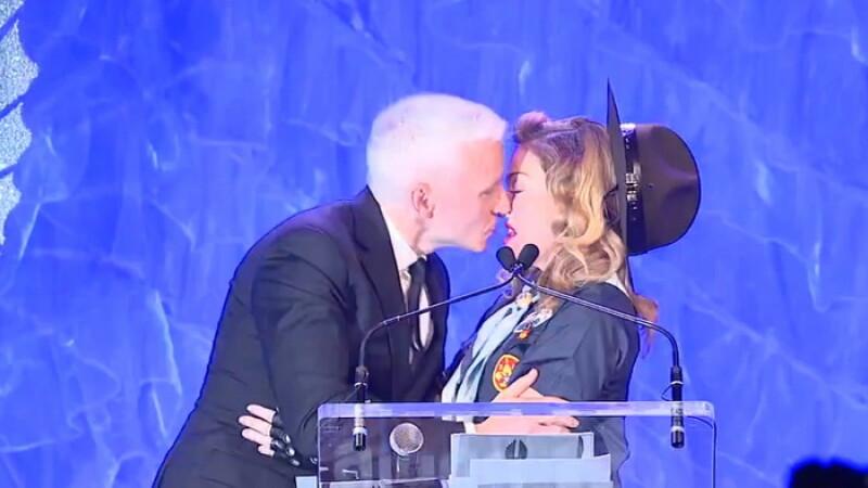 Anderson Cooper si Madonna
