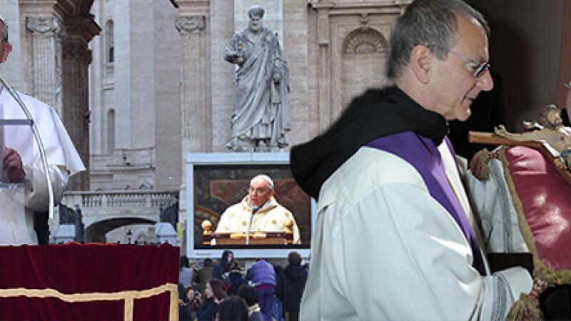 Papa Francisc a fost intronizat la Vatican: