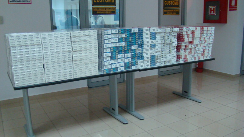 Captura impresionanta pe aeroportul din Timisoara. Ce au ascuns in bagaje sase ucrainieni