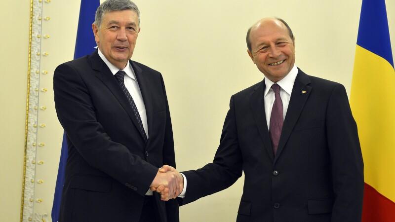 Nebojsa Radmanovic, Traian Basescu
