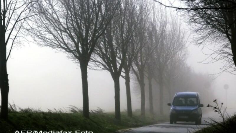 Vantul va sulfa cu 120 de kilometri la ora in Caras Severin. Meteorologii au emis cod portocaliu