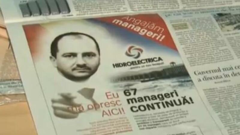ziar, anunt recrutare Hidroelectrica