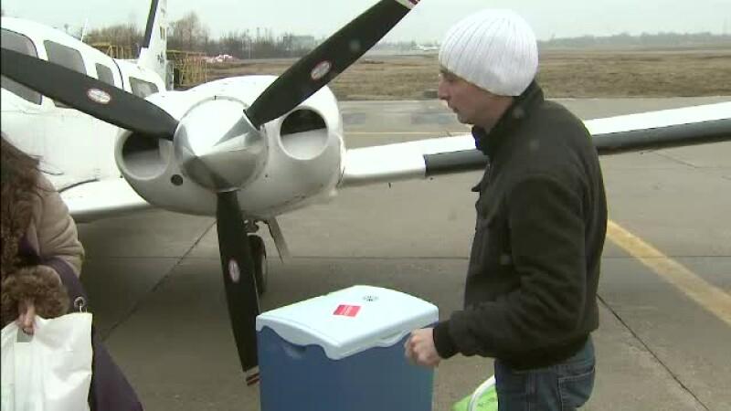 Agentia pentru Transplant are nevoie de un avion rapid. In prezent foloseste unul vechi de 40 de ani