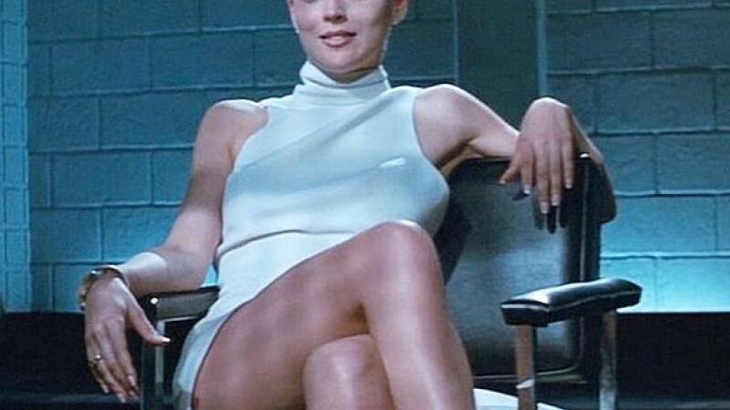 Sharon Stone in filmul Basic Instinct