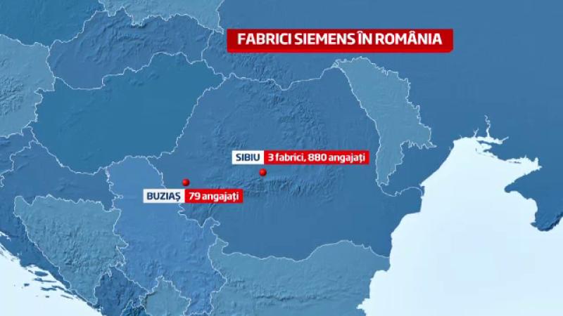 Siemens isi muta in Romania o parte din productie. Ponta: