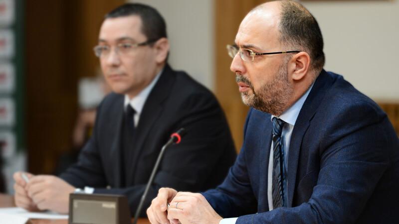 Kelemen Hunor si Victor Ponta