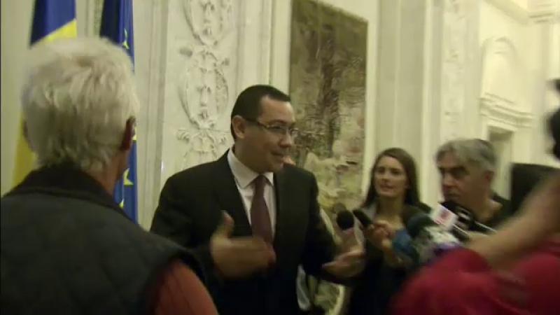 Victor Ponta, dupa demisia lui Crin Antonescu: