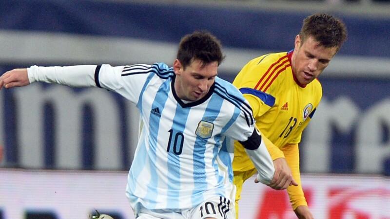 Messi, fata in fata cu Pintilii