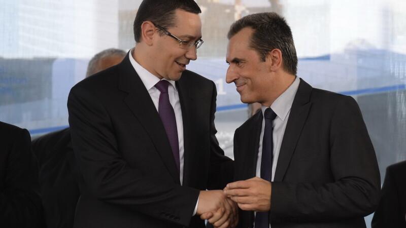 Victor Ponta si premierul Bulgariei, Plamen Oresharski