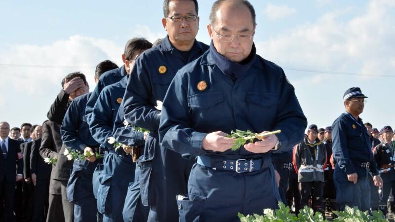 Comemorarea a 3 ani de la tsunamiul din Japonia
