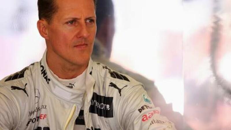 Michael Schumacher a pierdut 25% din greutate si acum cantareste doar 50 kilograme. Medici: \