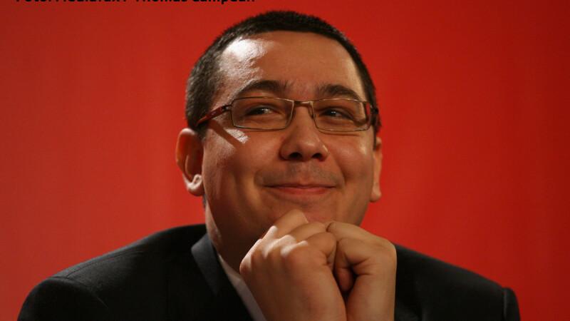Victor Ponta fericit
