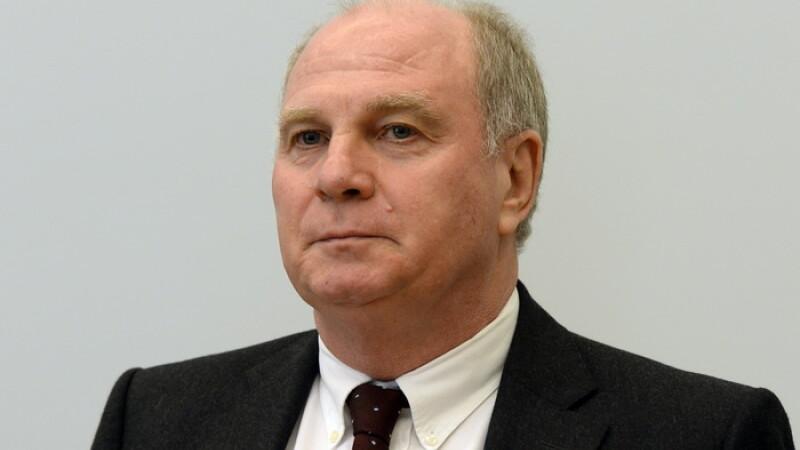 Presedintele lui Bayern Munchen a fost condamnat la trei ani si jumatate de inchisoare cu executare pentru frauda fiscala