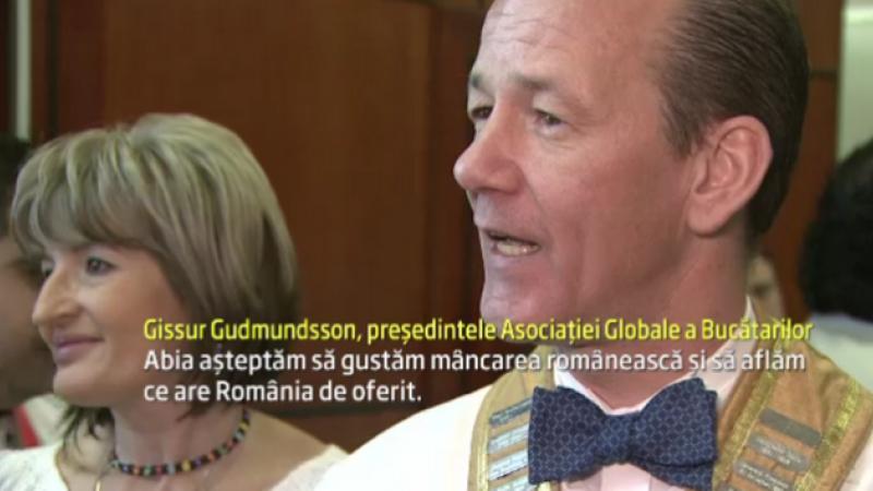 Romania gazduieste in premiera Congresul Mondial de Gastronomie. Tara noastra, inclusa intr-o enciclopedie culinara globala