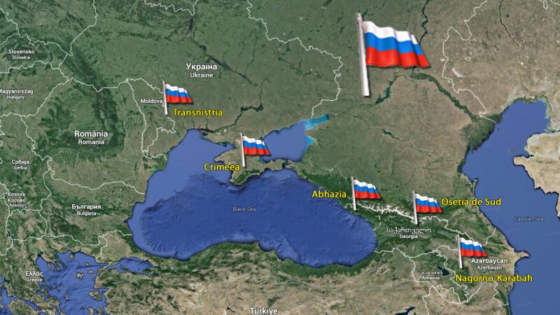conflicte inghetate in fosta URSS