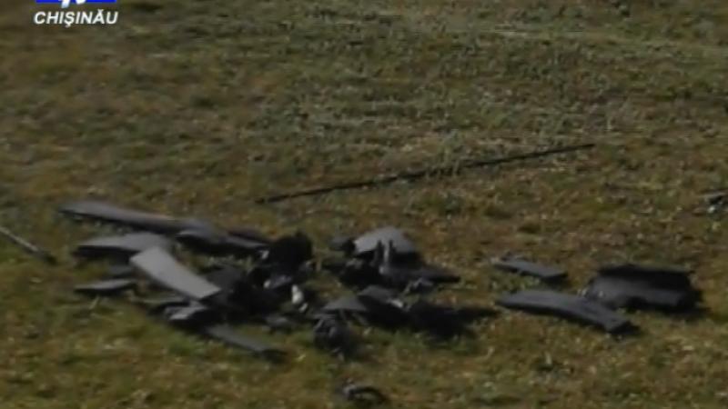 Un avion fara pilot a fost doborat in Transnistria. Tiraspolul: Survola cu scopul de a spiona. VIDEO