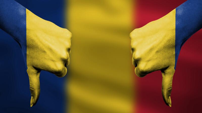 Romania thumbs down