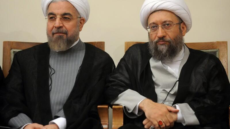 Hassan Rouhani, Sadeq Larijani
