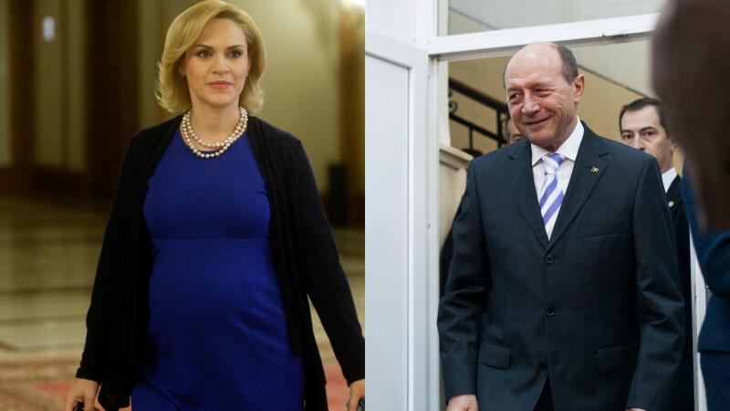 Gabriela Firea, Traian Basescu