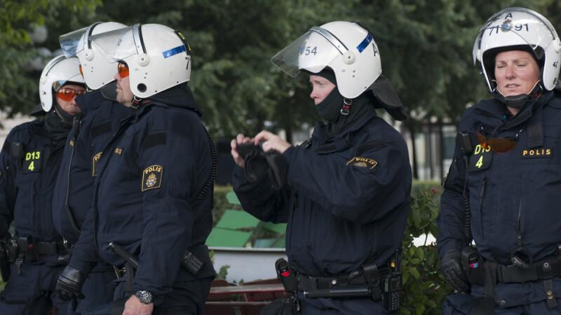 politie suedia