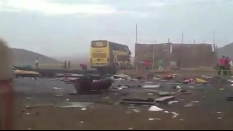 Accident in Peru