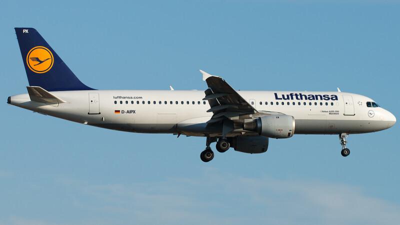 Lufthansa, avion prabusit