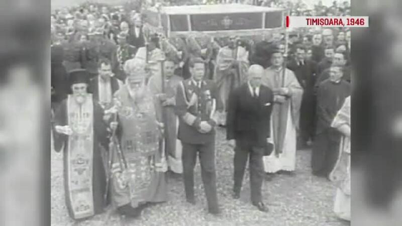 Timisoara, Regele Mihai, 1946