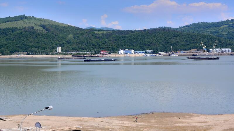 Dunare, Orsova - Agerpres